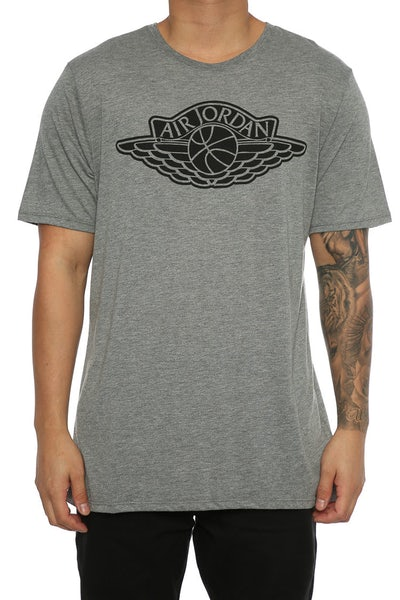 Jordan Iconic Wings Tee Dark Grey/Black