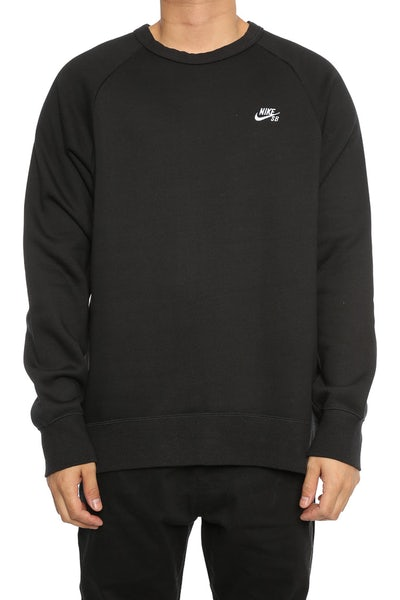 Nike SB Icon Crew Top Black/White