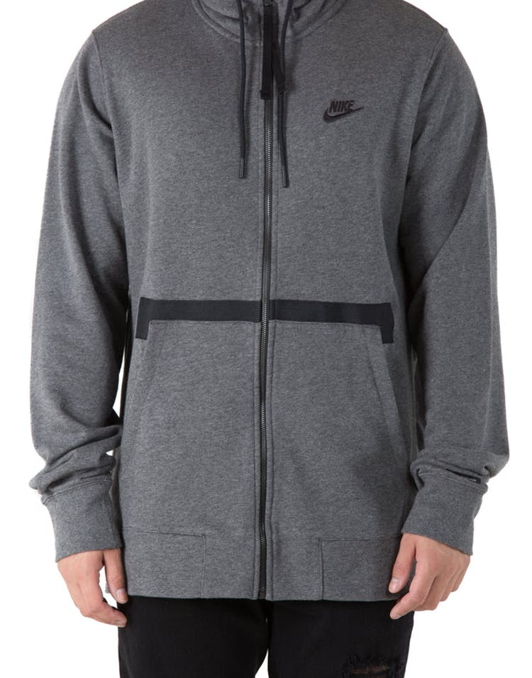 a430a81e Nike Sportswear Air Force 1 Hoodie Charcoal Heather – Culture Kings