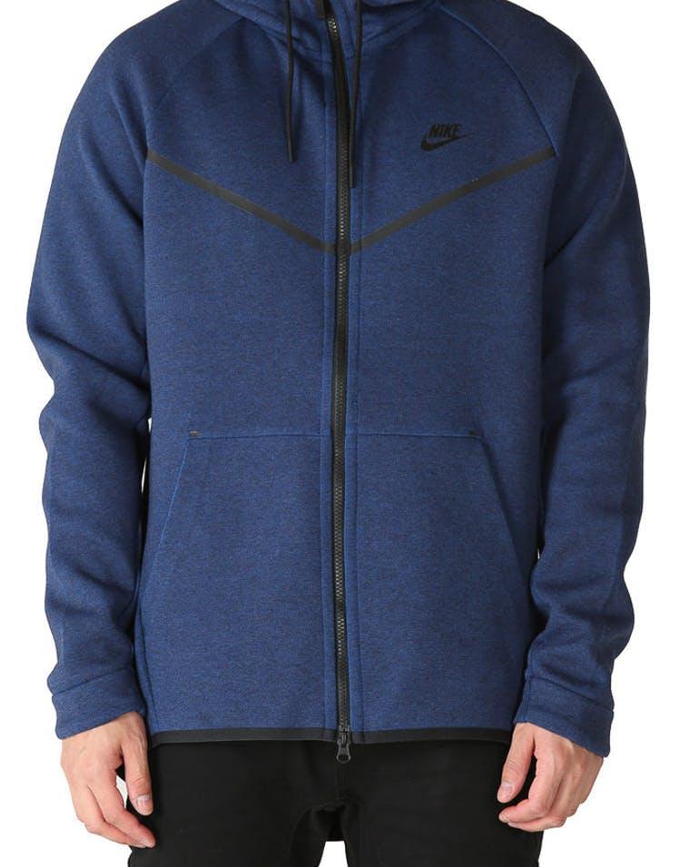 6347ff287bd5 Nike Tech Fleece Windrunner Hood Navy Black – Culture Kings