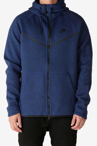 Nike Tech Fleece Windrunner Hood Navy/Black