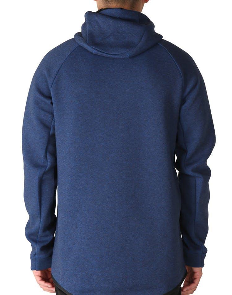 e860287d2e04 Nike Tech Fleece Windrunner Hood Navy Black – Culture Kings