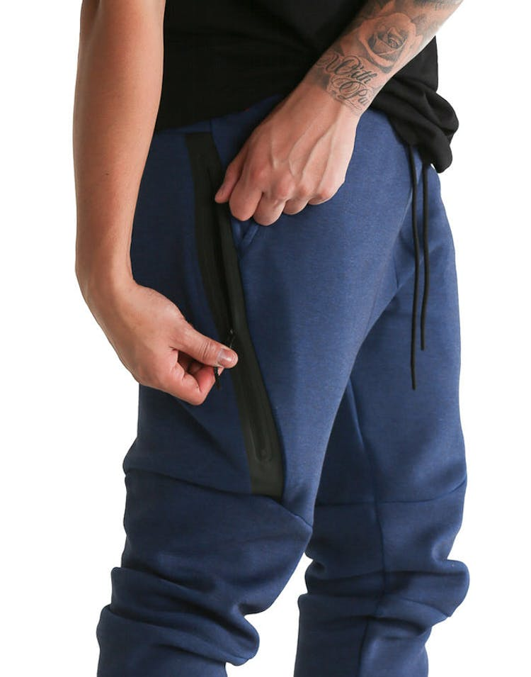 033715501 Nike Tech Fleece Jogger Pant Navy/Black – Culture Kings