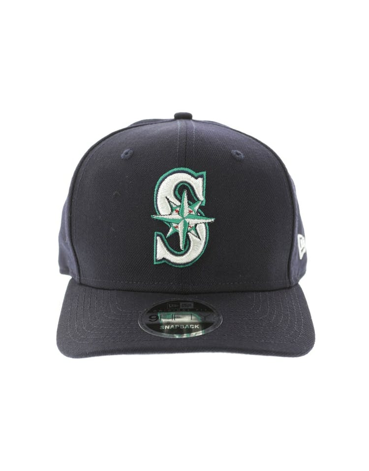 low priced ab214 d81c3 New Era Seattle Mariners 950 Original Fit Precurve Snapback Navy – Culture  Kings