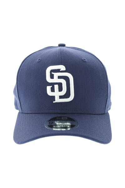 New Era San Diego Padres 950 Original Fit Precurve Snapback Navy