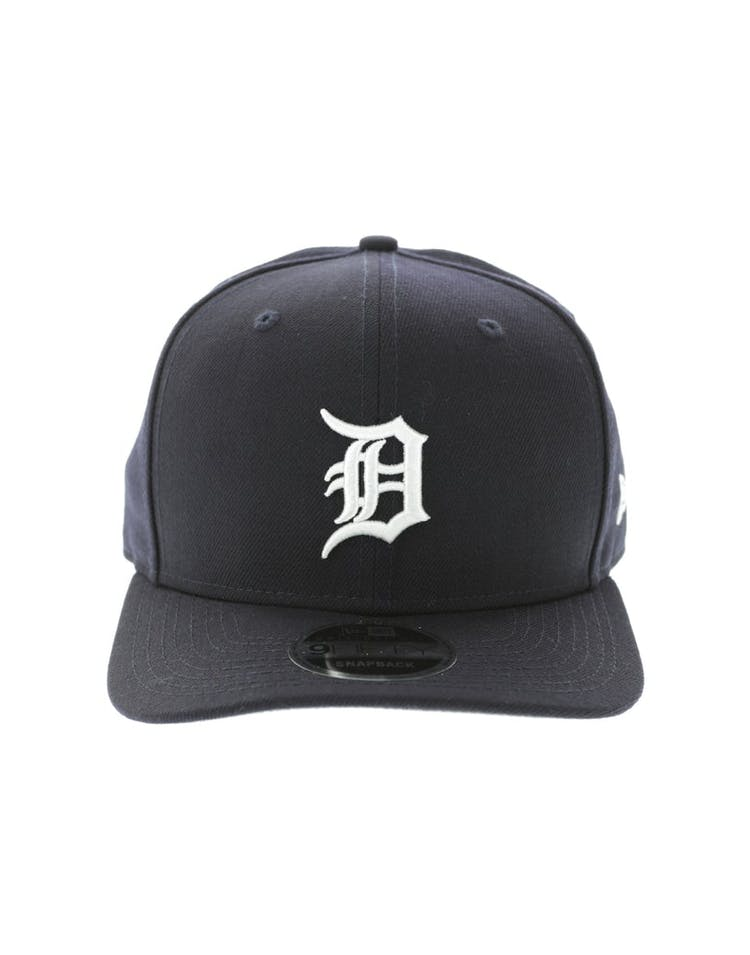 big sale 80835 32407 New Era Detroit Tigers 950 Original Fit Precurve Snapback Navy – Culture  Kings