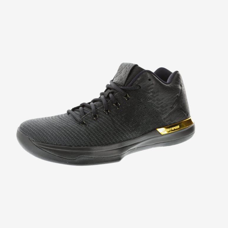 ace5a82f0c9a4 Air Jordan XXX1 Low Black Anthracite Gold