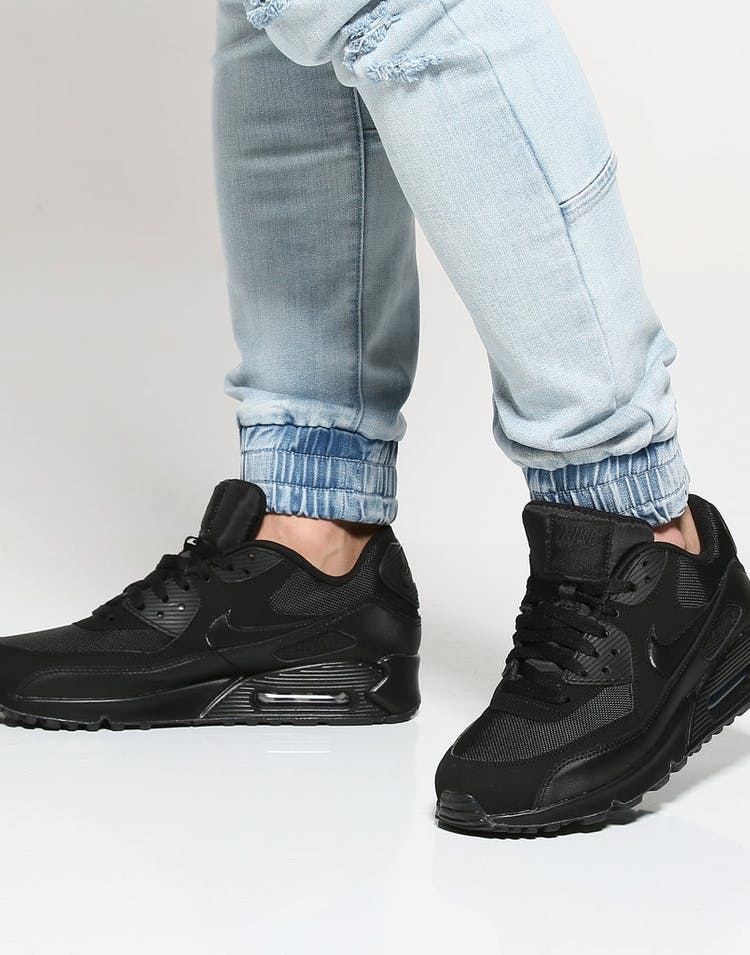 e08e65a8ec Nike Air Max 90 Essential Black/Black | 537384 090 – Culture Kings