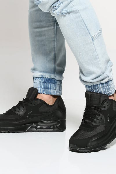 quality design 4ee88 6c32d Nike Air Max 90 Essential Black Black