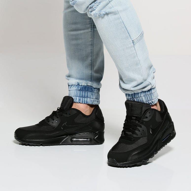 c9100f8fb6b3 Nike Air Max 90 Essential Black Black