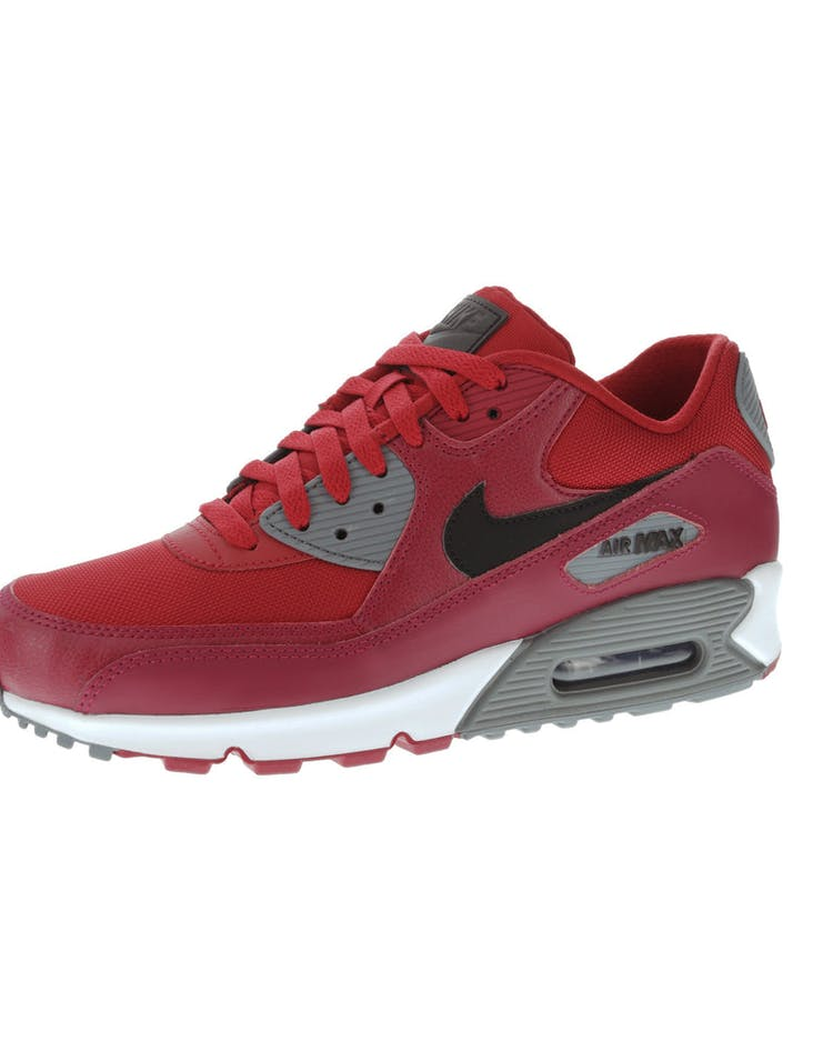 the latest 588cc ac800 Nike Air Max 90 Essential Red Grey White   537384 606 – Culture Kings