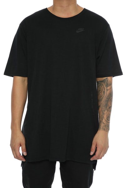 Nike Droptail Bond Mesh Tee Black/Black