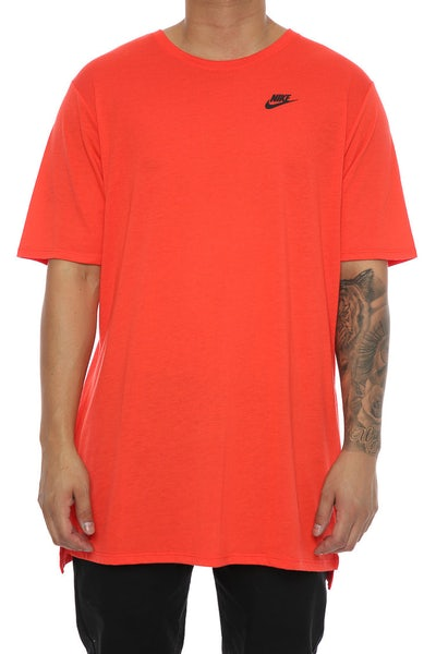 Nike Droptail Bond Mesh Tee Orange/Black