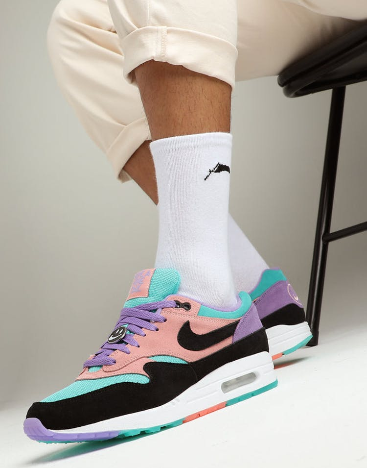 moins cher 0d5da 535fa Nike Air Max 1 ND Purple/Black/Black