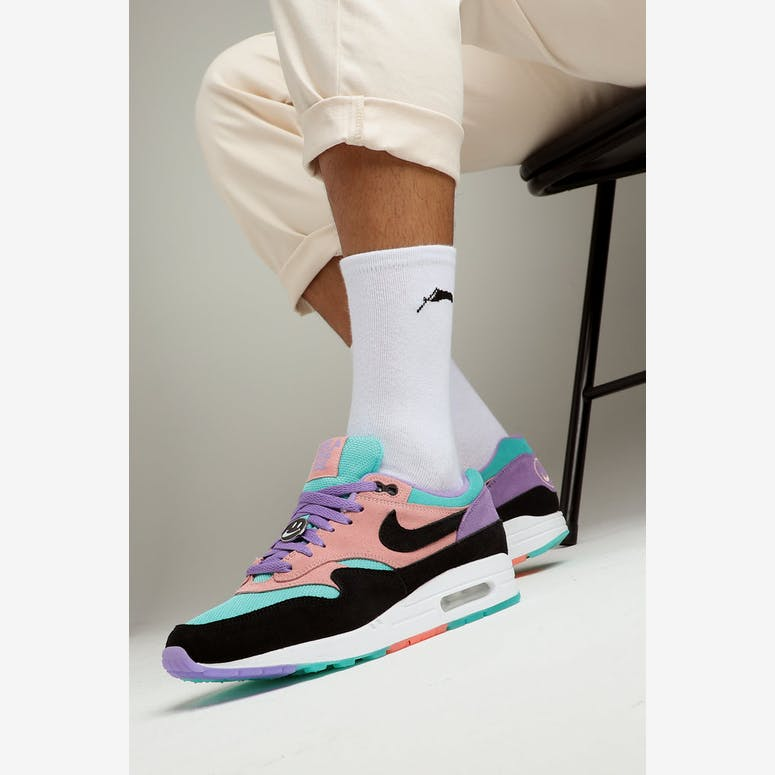new product 71a79 e4366 Nike Air Max 1 ND PurpleBlackBlack – Culture Kings