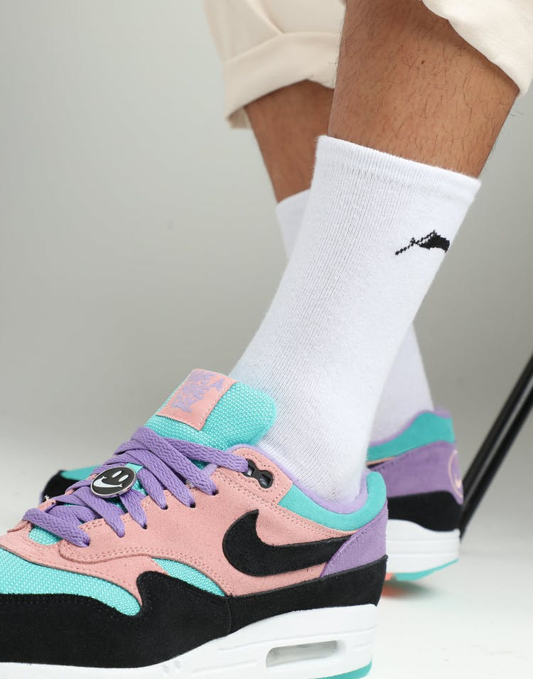 6956e2dc146228 Nike Air Max 1 ND Purple Black Black – Culture Kings