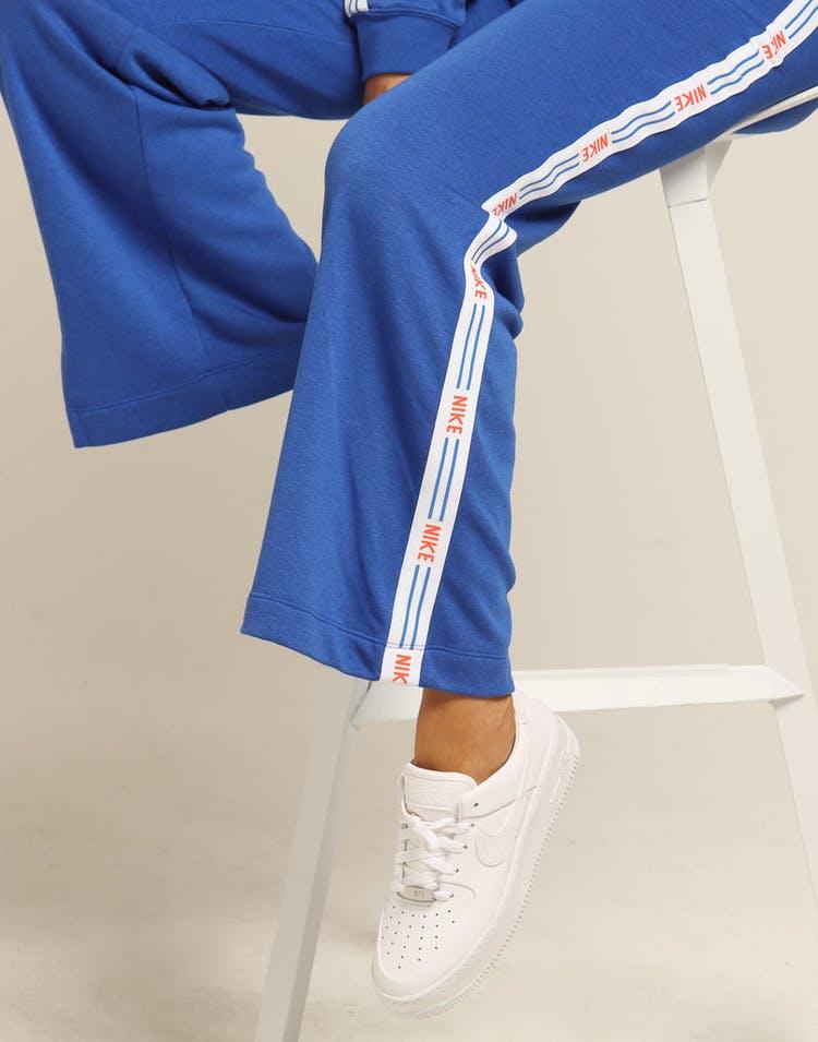 la meilleure attitude 61262 9d218 Nike Women's NSW Hyper Femme Fleece Sweatpants Royal/White