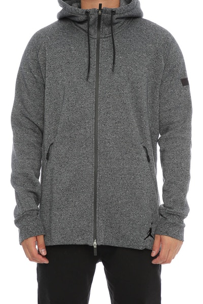 Jordan Icon Hood Grey Black/Black