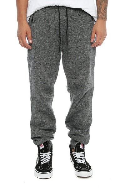 Jordan Icon Fleece Cuffed Pant Grey Black/Black