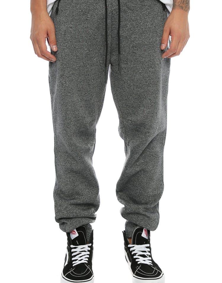 97db705a7f8c Jordan Icon Fleece Cuffed Pant Grey Black Black – Culture Kings