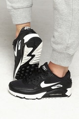 NIKE WOMEN'S AIR MAX 90 BLACK/WHITE/BLACK