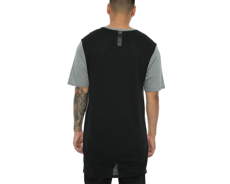Nike Droptail Bond Mesh Tee Dark Grey/Black