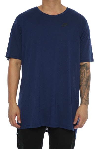 Nike Droptail Bond Mesh Tee Navy/Black