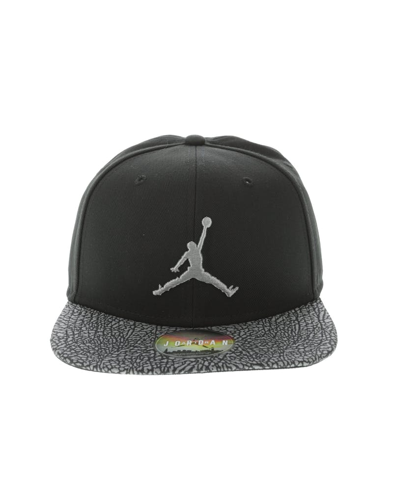 Jordan Elephant Bill Snapback Black Dust