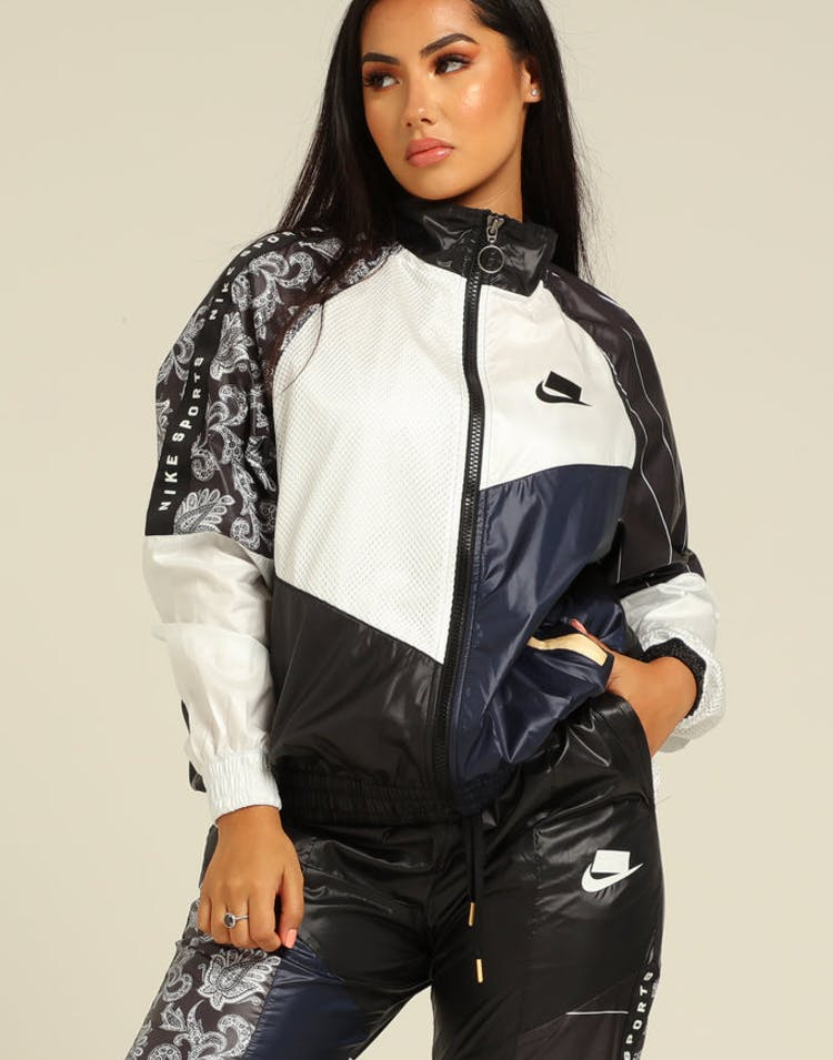 Nike Women's Sportswear NSW Jacket Black/White/Black