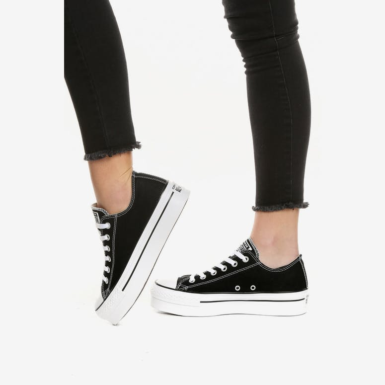 Converse Chuck Taylor All Star Platform Black  0845db517