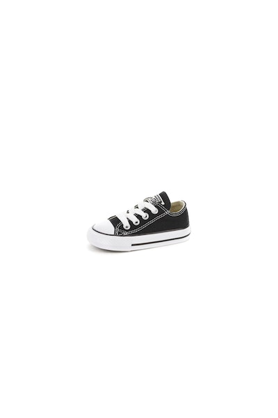 CONVERSE INFANT CHUCK TAYLOR ALL STAR LOW TOP BLACK/WHITE