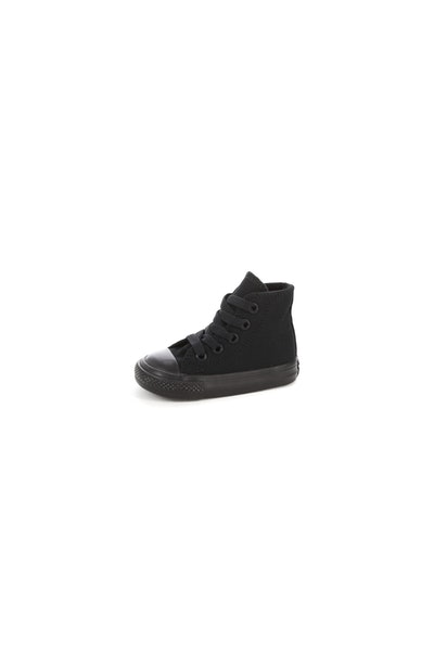 CONVERSE INFANT CHUCK TAYLOR ALL STAR HI BLACK/BLACK