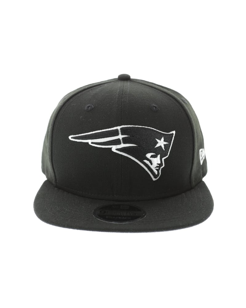 New Era New England Patriots 950 Original Fit Grey Undervisor Snapback Black