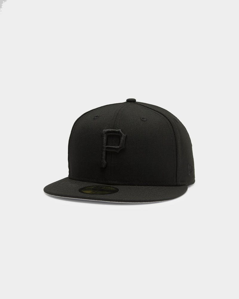 New Era Pirates 59FIFTY Fitted Black/Black