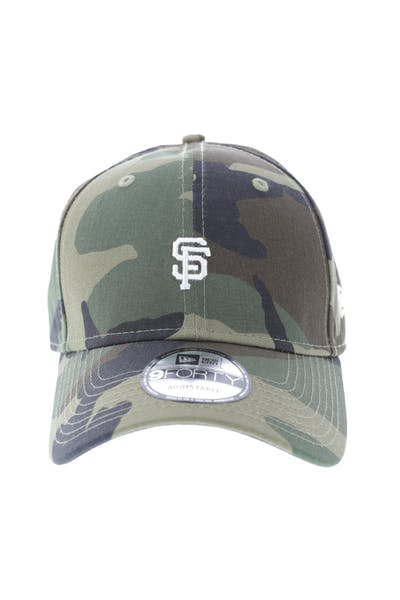 cheap for discount d1496 981f7 New Era San Francisco Giants 9FORTY Strapback Woodland Camo ...