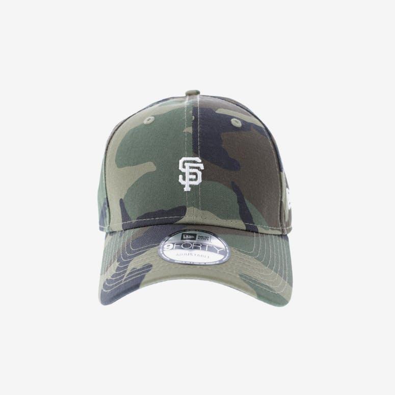 New Era San Francisco Giants 9FORTY Strapback Woodland Camo – Culture Kings 3553afb79ae