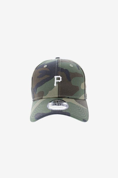 New Era Pittsburgh Pirates 940 Strapback Woodland Camo