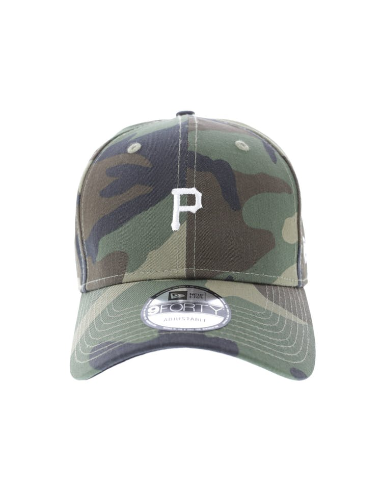 separation shoes 51885 1f495 New Era Pittsburgh Pirates 9FORTY Strapback Woodland Camo – Culture Kings