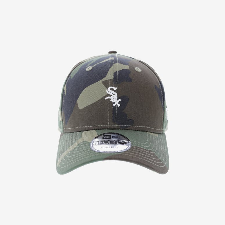 New Era Chicago White Sox 9FORTY Strapback Woodland Camo – Culture Kings 00287f8bd186
