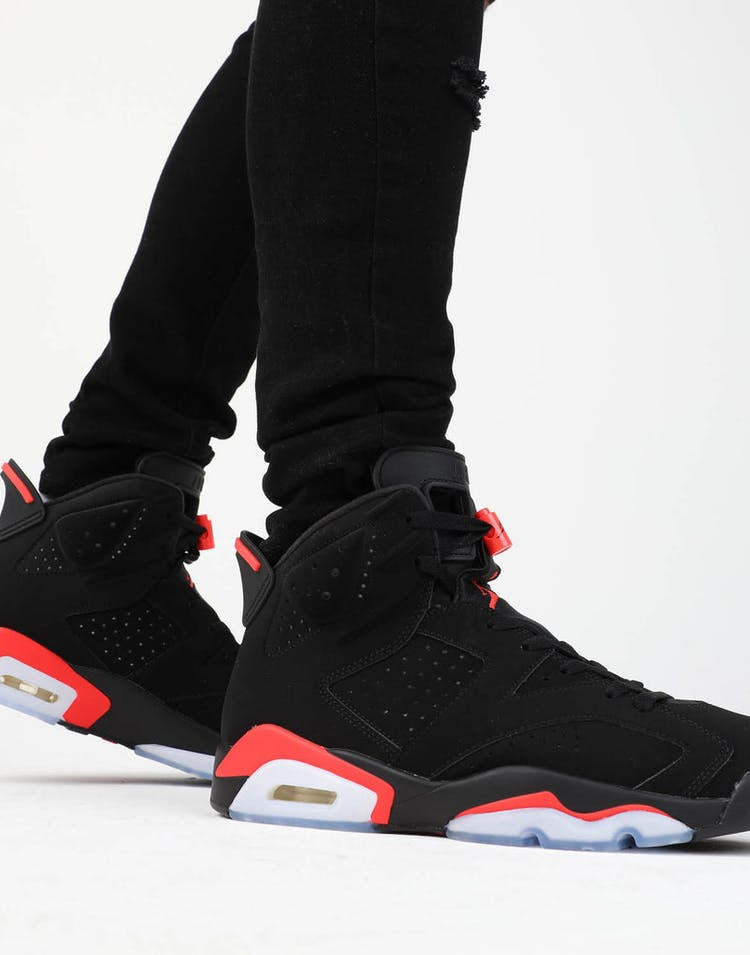 6c1b707aef35 Jordan Air Jordan 6 Retro Black Infrared – Culture Kings
