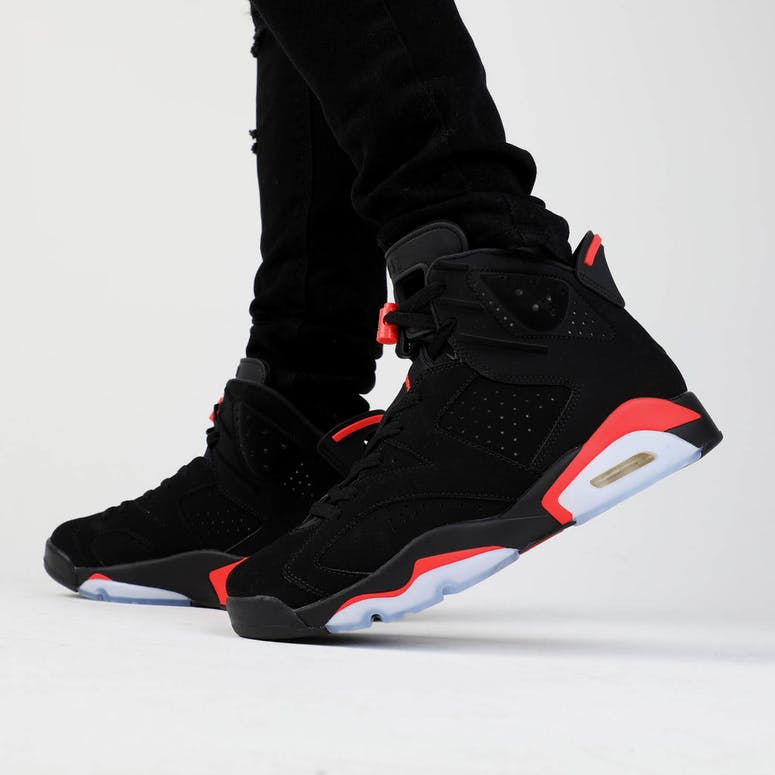 Jordan Air Jordan 6 Retro Black Infrared – Culture Kings e4874dae7