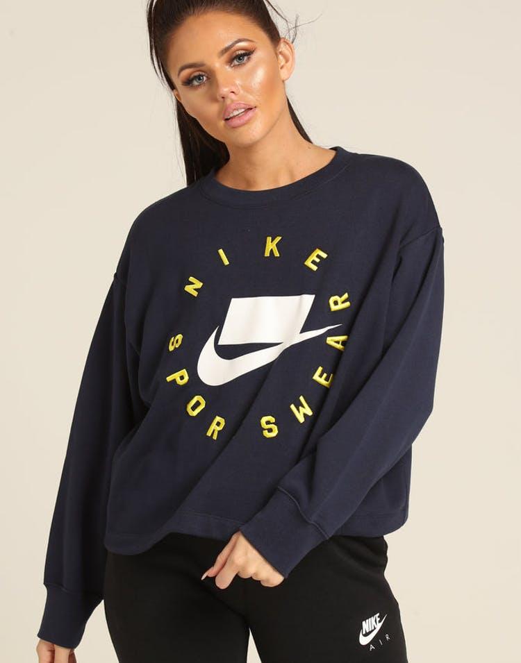 63cf54437b6c6a Nike Women s Sportswear NSW Crew Osbidian – Culture Kings