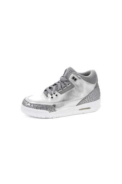 Air Jordan 3 Retro Premium HC Silver/White