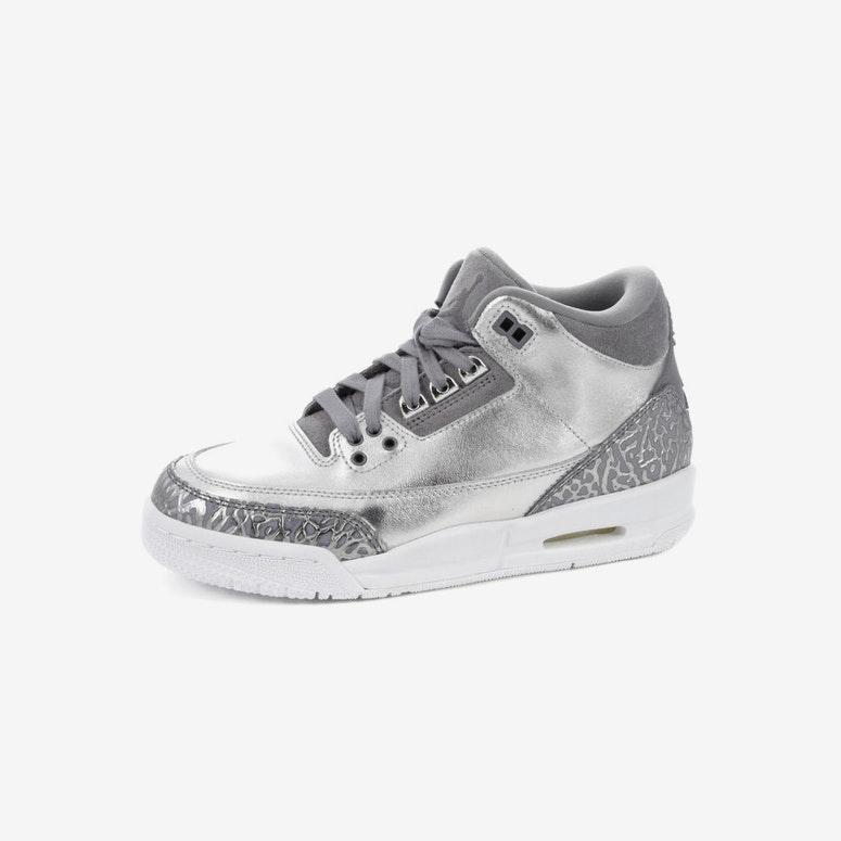 info for 7c22a e5448 Air Jordan 3 Retro Premium HC Silver White   AA1243 020 – Culture Kings