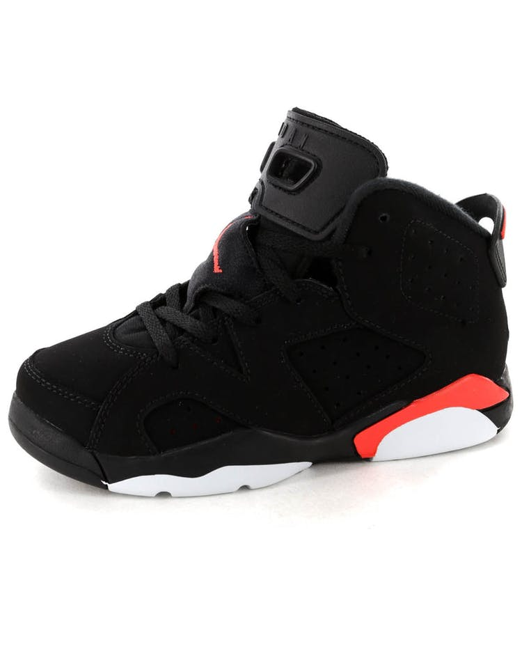 9eb43556a57a Jordan Kids Air Jordan 6 Retro (PS) Black Infrared – Culture Kings
