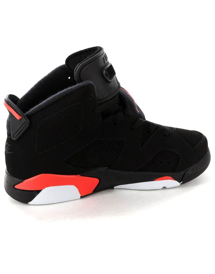 huge discount 1fbad 569d1 Jordan Kids Air Jordan 6 Retro (PS) Black Infrared