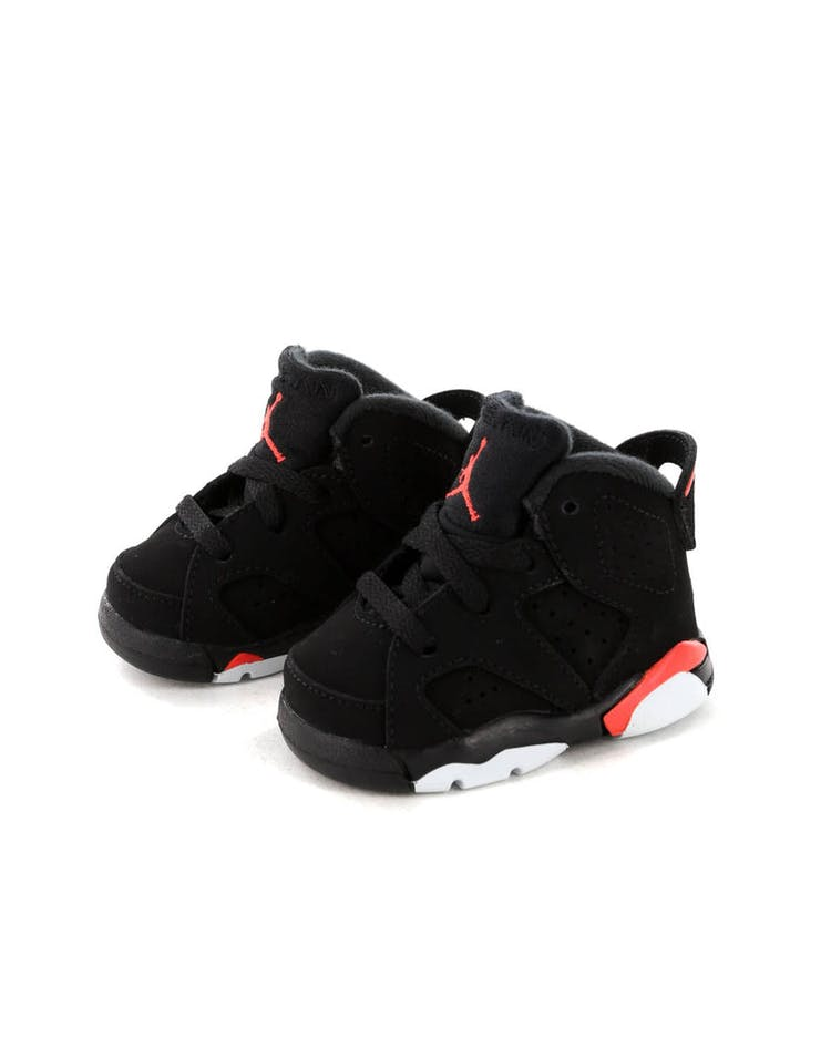 separation shoes 206aa 6c045 Jordan Kids Air Jordan 6 Retro (TD) Black Infrared – Culture Kings