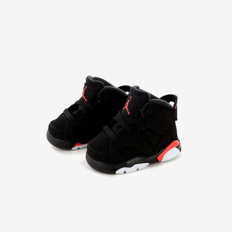 a9521eccb3e0fb Jordan Kids Air Jordan 6 Retro (TD) Black Infrared – Culture Kings