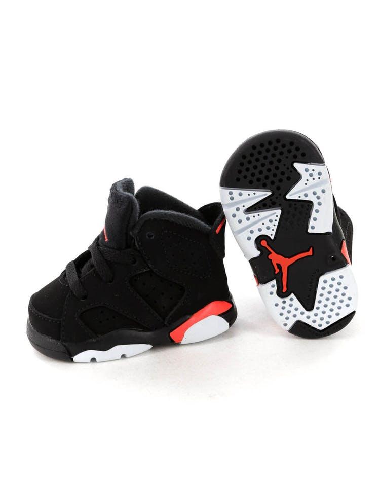 fd2c304fae644e Jordan Kids Air Jordan 6 Retro (TD) Black Infrared – Culture Kings