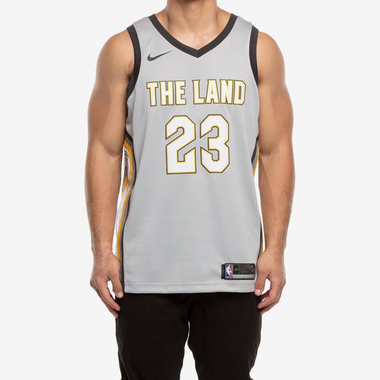 Nike Cleveland Cavaliers  23 LeBron James City Edition Swingman Jersey –  Culture Kings fef75abf2